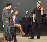 Stefan Jackiw Master Class at Center Stage Strings Music Camp