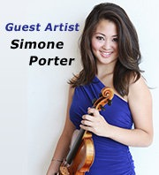 Center Stage Strings Guest Artist Simone Porter